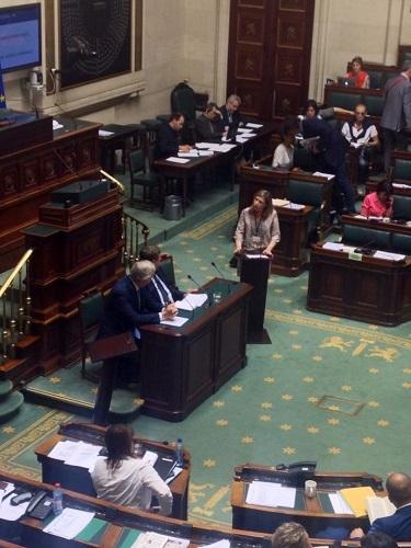 question de S. Thoron au Ministre Bacquelaine sur la pension des agents communaux